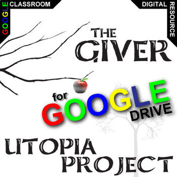 THE GIVER Utopia Project & Travel Brochure Activity (Creat