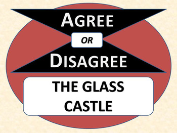 THE GLASS CASTLE - Agree or Disagree Pre-reading Activity