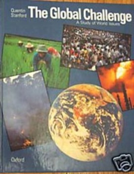TEXTBOOK THE GLOBAL CHALLENGE:A STUDY OF WORLD ISSUES Quen