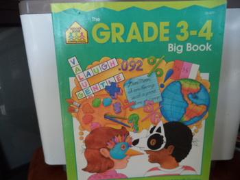 THE GRADE 3-4 Big Book    ISBN#0-88743-313-8