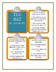 Jan Brett THE HAT - Discussion Cards