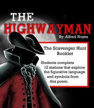 THE HIGHWAYMAN Scavenger Hunt