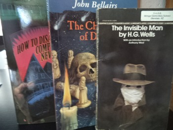 THE INVISIBLE MAN,CHESSMAN,HOW TO DISAPPEAR (set of 3)