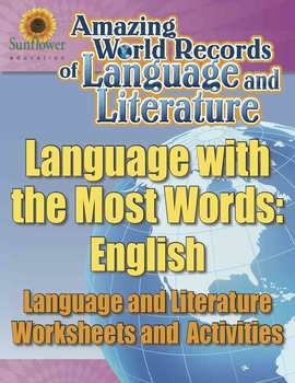 THE LANGUAGE WITH THE MOST WORDS: ENGLISH—Language Workshe