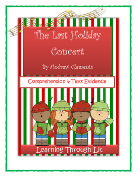 Andrew Clements THE LAST HOLIDAY CONCERT - Comprehension &