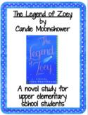 THE LEGEND OF ZOEY Novel Study