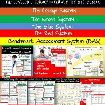 THE LEVELED LITERACY INTERVENTION  (LLI) AND BENCHMARK ASS