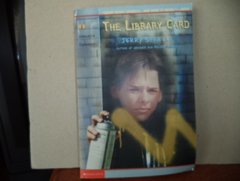 The Library Card ISBN 0-590-38633-6