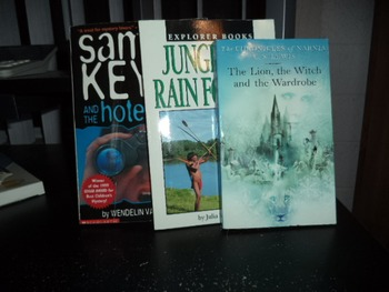 THE LION, THE WITCH...JUNGLES SAMMY KEYES        (set of 3)