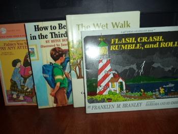 FABLES,THIRD GRADE,WET WALK,FLASH CRASH     (SET OF 4)