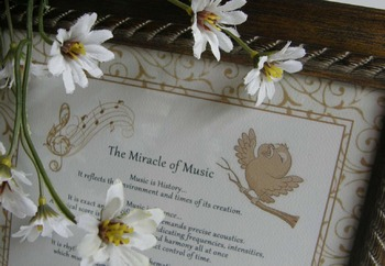 """THE MIRACLE OF MUSIC""; Quotes from over the centuries; 8"""