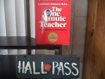 THE ONE MINUTE TEACHER  ISBN 0-688-08249-1 (set of 2)