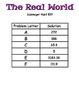 THE REAL WORLD SCAVENGER HUNT TEKS 8.7b Geometric concepts