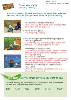 THE SNIPS: The Snips Go Camping Activity - Storytelling Ch