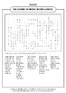 THE SOUND OF MUSIC WORD SEARCH