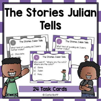 THE STORIES JULIAN TELLS - Task Cards