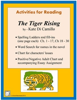 THE TIGER RISING Activities