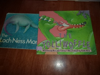 THE TOLLIWOFFLE  THE LOCH NESS MONSTER      (SET OF 2)