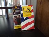 THE U S CONSTITUTION,US PRES FLASH    SET OF 2
