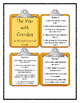 THE WAR WITH GRANDPA by Robert Kimmel Smith - Discussion Cards
