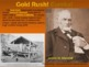 THE WEST! (PART 5: CALIFORNIA GOLD RUSH) visual, textual,