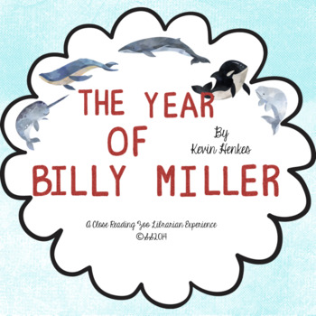 The Year of Billy Miller - by Kevin Henkes (CCSS aligned c
