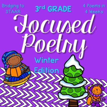 Focused Poetry 3rd Grade: Winter Edition