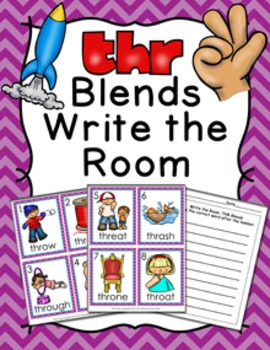 THR Blends Write the Room Activity
