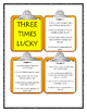 THREE TIMES LUCKY by Sheila Turnage - Discussion Cards