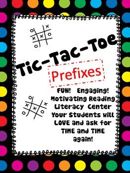 TIC TAC TOE Prefixes