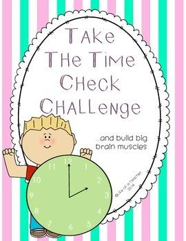TIME CHECK CHALLENGE!!
