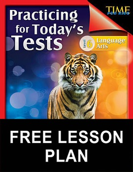 TIME FOR KIDS®: Language Arts Test Preparation Level 6--Di