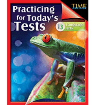 TIME For Kids: Practicing for Today's Tests Language Arts Level 3