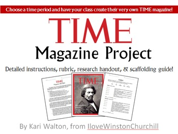 TIME Magazine Historical Time Period Project