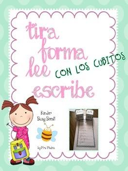 TIRA, FORMA, LEE, ESCRIBE CON LOS CUBITOS!!!!