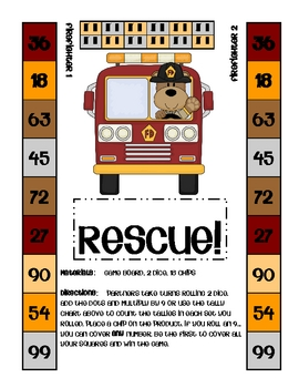 TImes Tables x9 -  Rescue
