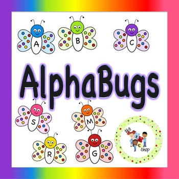 TLC Clip Art - AlphaBugs