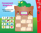 Initial Consonants: The Consonant Kingdom (Grade 1) [Inter
