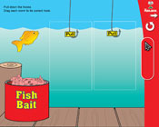 Long Vowels: Fish Bait (Grade 1) [Interactive Promethean Version]