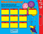 Pronouns: What a Wingding! (Grade 3) [Interactive Promethe
