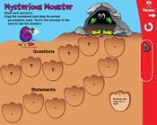 Statements: Mysterious Monster (Grade 2) [Interactive Prom