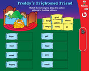 Synonyms: Freddy's Frightened Friend (Grade 2) [Interactiv