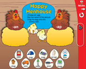 Word Families: Happy Henhouse (Grade 1) [Interactive Prome