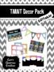 TMNT Mini Classroom Decor Pack (Ninja Turtle Inspired) {EDITABLE}