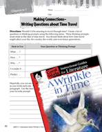 A Wrinkle in Time Making Cross-Curricular Connections (Gre
