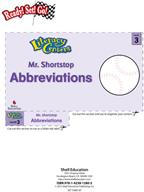 Abbreviations - Mr. Shortstop Literacy Center