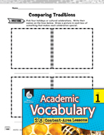 Academic Vocabulary Level 1 - A Festival of Lights