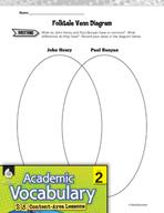 Academic Vocabulary Level 2 - Comparing Folk Heroes