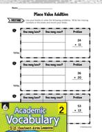 Academic Vocabulary Level 2 - Understanding Place Value
