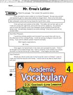 Academic Vocabulary Level 4 - Revising